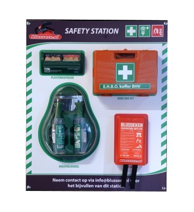 Blussers.nl safety station